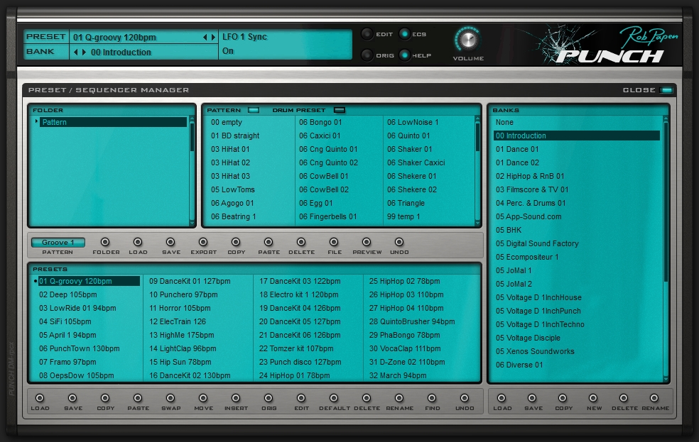Rob Papen Punch bankmanager'