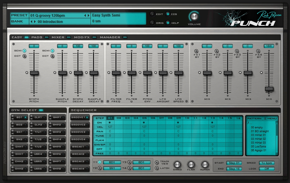 Rob Papen Punch easypage'