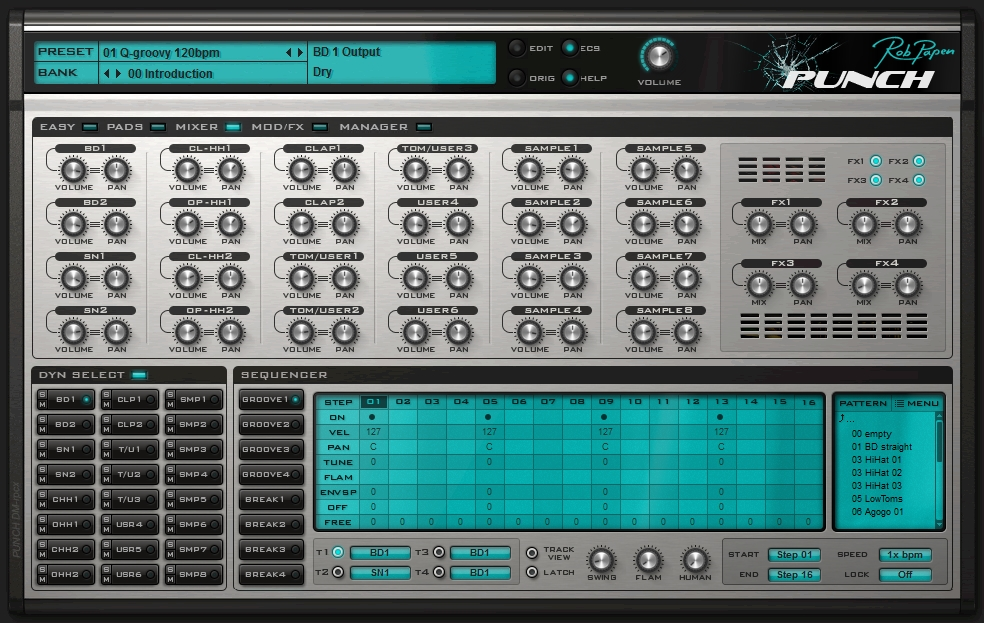 Rob Papen Punch mixer