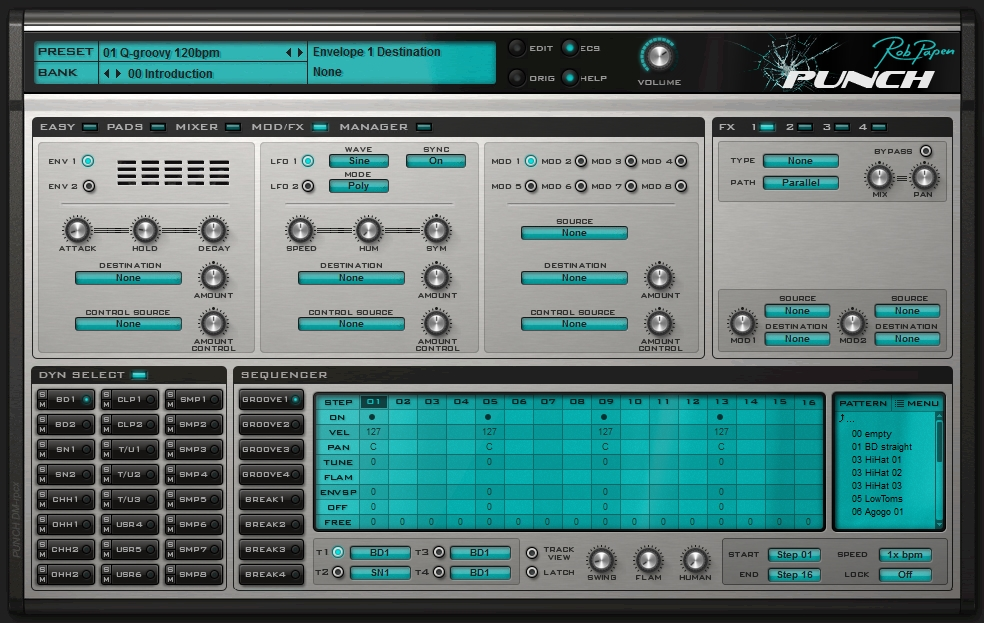 Rob Papen Punch modulation FX