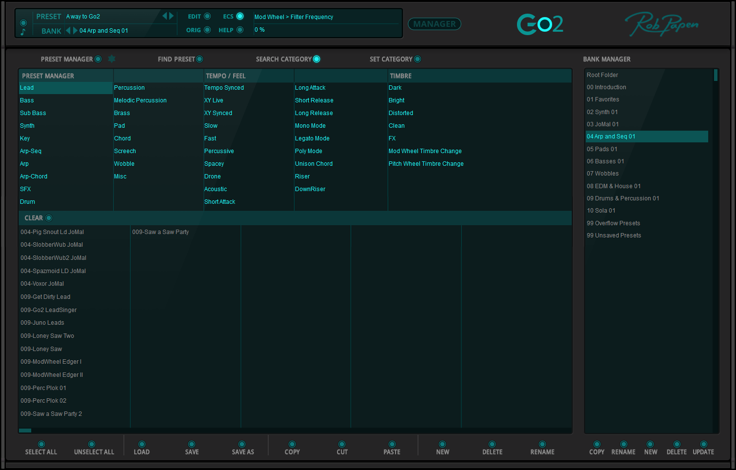 Rob Papen Go2 for Mac 1.0.1a 破解版 – 多功能虚拟合成器-麦氪派