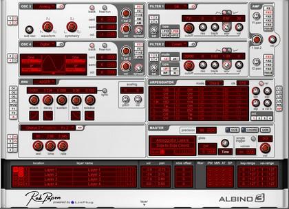Complete music studio for your Mac! Albino3