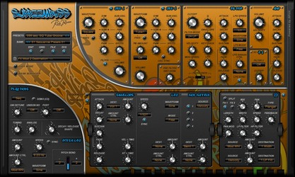 Rob Papen SubBoomBass 'Free modulation section open'