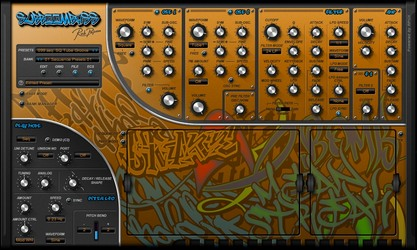 Rob Papen SubBoomBass 'closed sections'