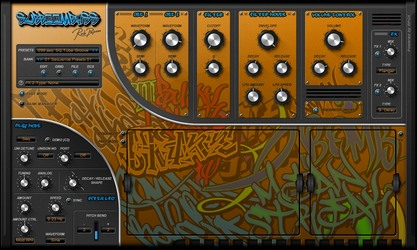 Rob Papen SubBoomBass 'Easy Mode' page