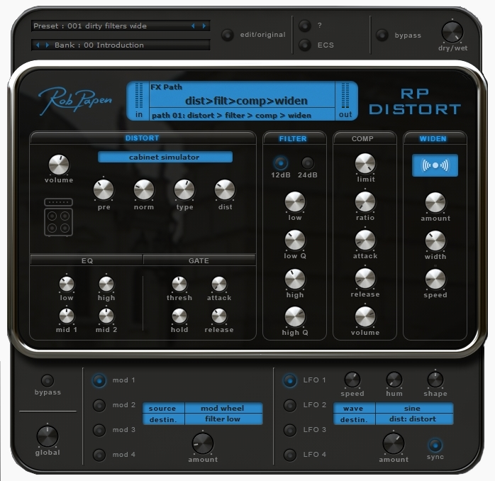Rob Papen Punch usermodel pad